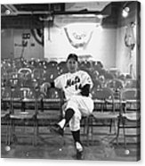 Gil Hodges Of The 1969 New York Mets Acrylic Print