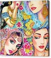 Glamorous India Acrylic Print