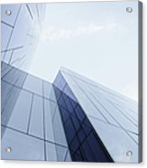 Glass And Steel Office Building Acrylic Print