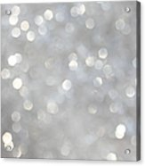 Glittery Background Acrylic Print