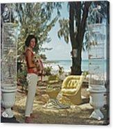 Gloria Schiff Acrylic Print