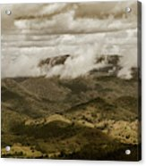 Glorious Cloud Cover Acrylic Print