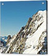 Glorious Mountain Vista Xxxl Acrylic Print