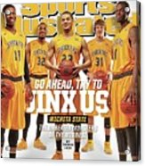 Go Ahead, Try To Jinx Us. Wichita State The Unbeaten Sports Illustrated Cover Acrylic Print