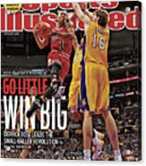 Go Little, Win Bing 2011 Nba Playoff Preview Issue Sports Illustrated Cover Acrylic Print
