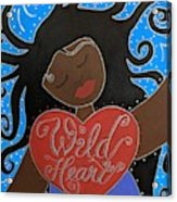 Goddess Of Wild Hearts Acrylic Print