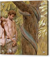 Gods Curse, Adam And Eve Acrylic Print