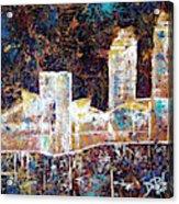 Gold Coast Cleveland Acrylic Print