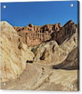 Golden Canyon's Red Cathedral Acrylic Print