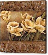 Golden Daffodils II    Acrylic Print