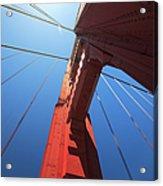 Golden Gate Bridge Tower Acrylic Print