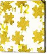 Golden Gauge Acrylic Print