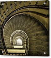Golden Stairway Acrylic Print