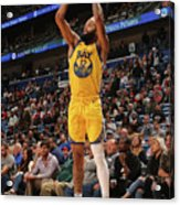 Golden State Warriors V New Orleans Acrylic Print