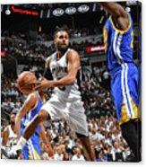 Golden State Warriors V San Antonio Acrylic Print