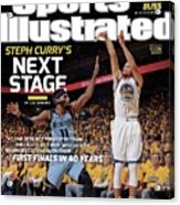 Golden State Warriors Vs Memphis Grizzlies, 2015 Nba Sports Illustrated Cover Acrylic Print