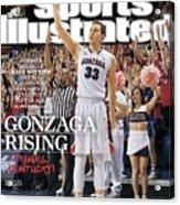 Gonzaga Rising Sports Illustrated Cover Acrylic Print