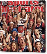 Gonzaga University Kelly Olynyk, 2013 March Madness College Sports Illustrated Cover Acrylic Print