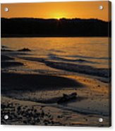 Good Harbor Bay Sunset Acrylic Print