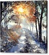 Good Morning Sun Acrylic Print