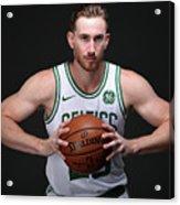 Gordon Hayward Boston Celtics Portraits Acrylic Print