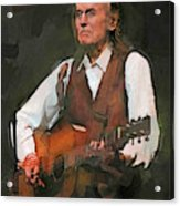 Gordon Lightfoot Acrylic Print