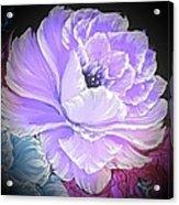 Gorgeous Rose In Purple  Acrylic Print