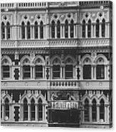 Gothic Architecture Office Building.  P Acrylic Print