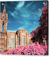 Gothic Style Chapel Acrylic Print