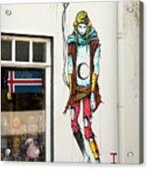 Graffiti By Deih In Reykjavik Acrylic Print
