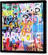 Graffitis Triptych Acrylic Print