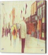Grafton Street 1 Acrylic Print