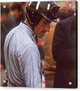 Graham Hill, Dutch Grand Prix Acrylic Print
