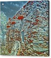 Grand Canyon Stone House Acrylic Print