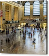 Grand Central Motion Acrylic Print