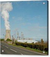 Grangemouth Petro-chemical Plant Acrylic Print