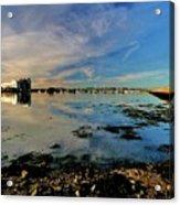 Granton Harbour Acrylic Print