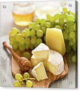 Grape, Honey And Cheese Acrylic Print