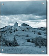 Grasslands Cathedral Acrylic Print