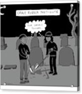 Grave Robber Meet-cute Acrylic Print