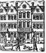 Great Plague Of London Acrylic Print