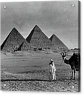 Great Pyramids Of Egypt Acrylic Print