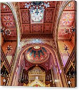 Great Synagogue, Budapest Hungary Acrylic Print