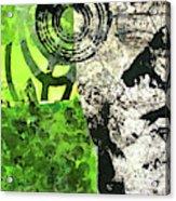 Green Balance No. 3 Acrylic Print