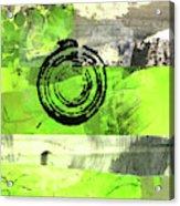 Green Balance No. 4 Acrylic Print