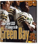Green Bay Packers, 1996 Nfl Football Preview Issue Sports Illustrated Cover Acrylic Print