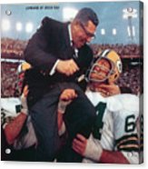 Green Bay Packers Coach Vince Lombardi, Super Bowl II Sports Illustrated Cover Acrylic Print