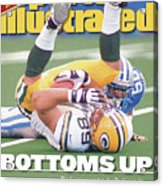 Green Bay Packers Mark Chmura... Sports Illustrated Cover Acrylic Print