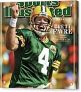 Green Bay Packers Qb Brett Favre Special Tribute Edition Sports Illustrated Cover Acrylic Print