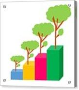 Green Economy Investment Concept Acrylic Print